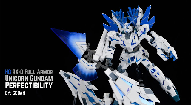 Black Clear Color 1//48 RX-0 Unicorn Head Gundam Display Base for HG RG