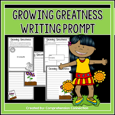 Use this writing freebie with your favorite gardening text and work on text structures too. Mentor text recommendations included.