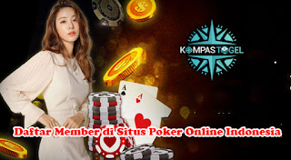 Daftar Member di Situs Poker Online Indonesia