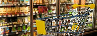 food shopping COVID healthy
