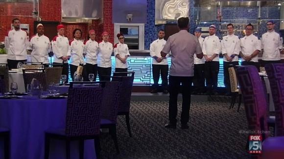 Hell s kitchen us season 15 episode 5 14 chefs compete for Hell s kitchen season 15 episode 1