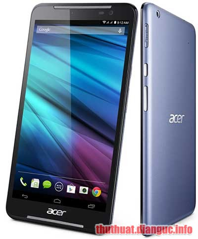 ROM stock Acer A1-724 flash qua Fastboot và SDUpdate