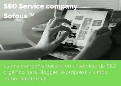 SEO service de Sofous marketing