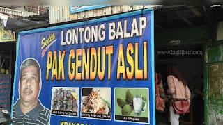 Lontong Balap Pak Gendut Surabaya