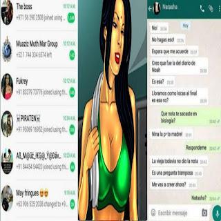 Savita Bhabhi WhatsApp group