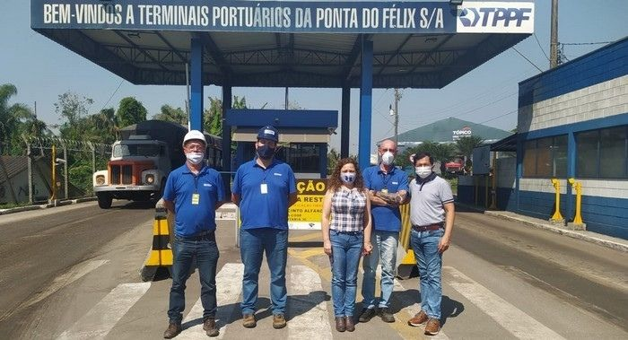 Portos Paranaenses são visitados por pesquisadores do Projeto Corredor Bioceânico da UFMS