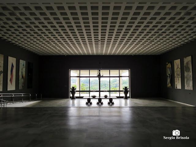 Vista artística do Hall de entrada do Palácio dos Bandeirantes - Morumbi - São Paulo