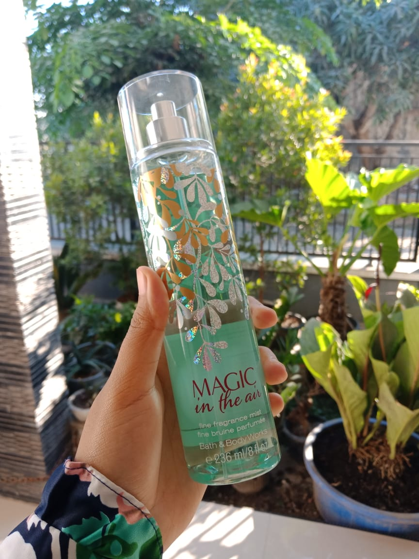 review bath & body works magic in the air