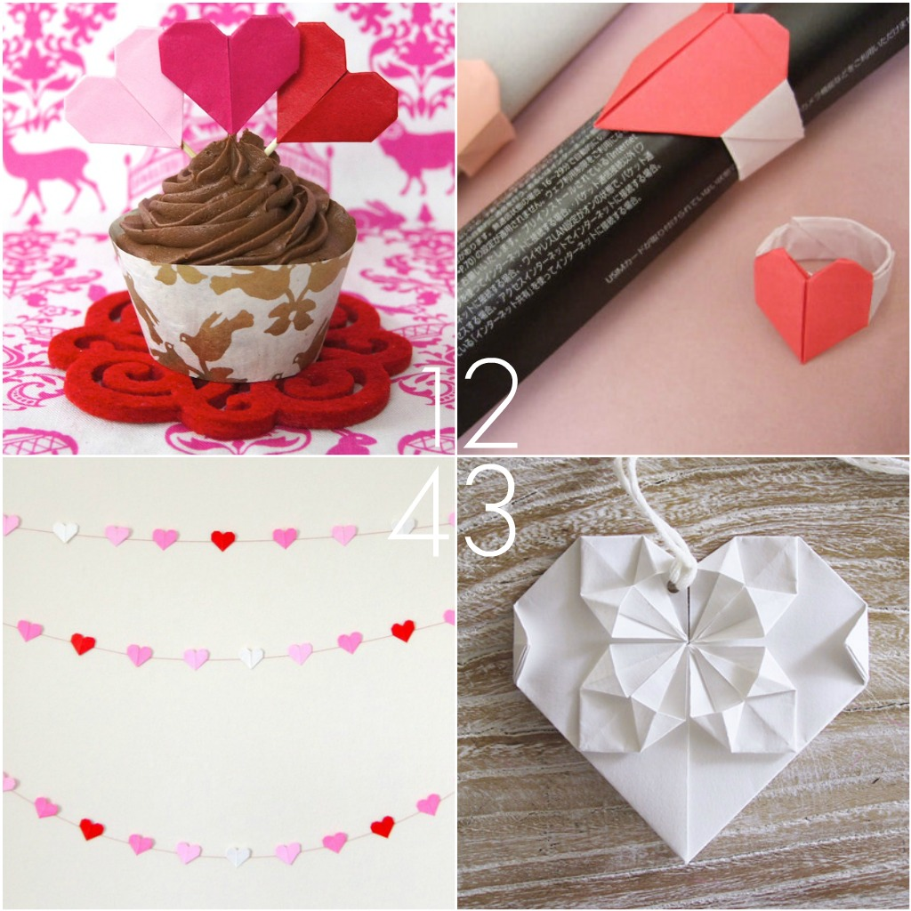 Omiyage Blogs: DIY: Origami Hearts for Your Valentine - photo#31