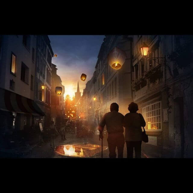 07-A-nighttime-walk-in-town-Illustrations-Martina-Stipan-www-designstack-co