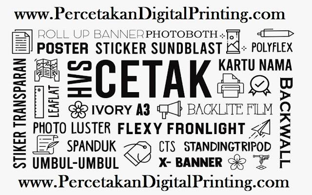 Toko Digital Printing Cibubur Bisa Order Online Di Antar Hasil Cetaknya