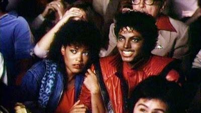 Ola Ray junto a Michael Jackson en 'Thriller'