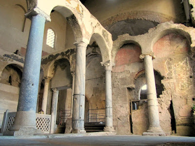 Cimitile Arcaeological site Campania region southern Italy