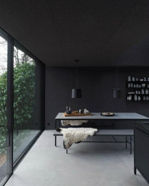 Wochenendhaus aus Stahl und Glas
