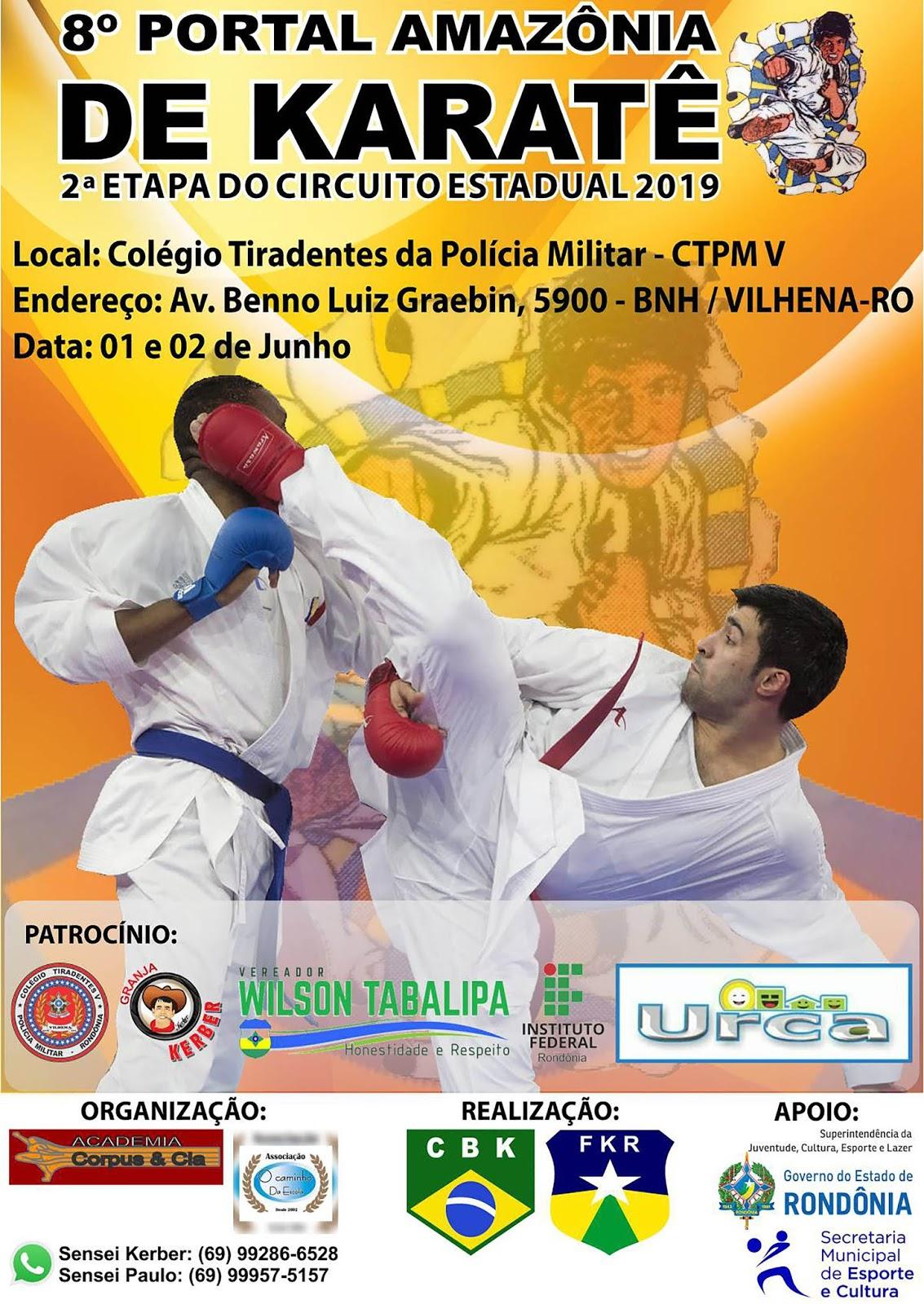 8º Portal Amazônia de Karate