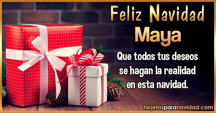 Feliz Navidad Maya