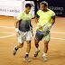 Brasil Open de tênis: Rogerinho vence outra na dupla e já está na semifinal