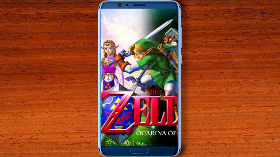 Zelda Ocarina of Time - Affiche - FHD pour Mobile