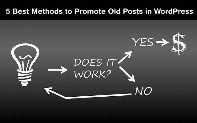 promote your old posts