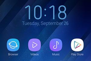 Oppo Theme: Samsung S8 Theme