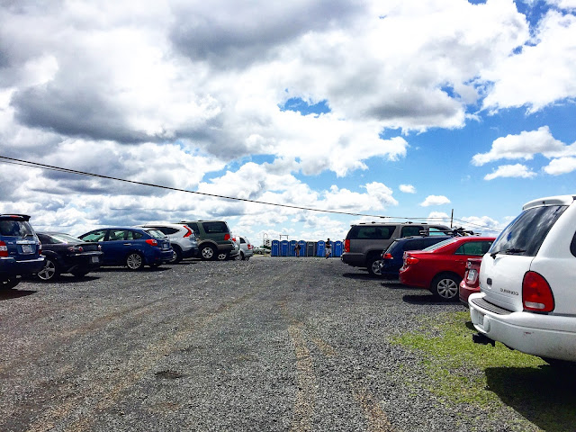 North Table Mountain parking lot
