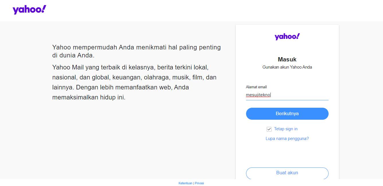 Cara Daftar Email Yahoo dengan Mudah dan Cepat
