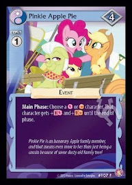 My Little Pony Pinkie Apple Pie Absolute Discord CCG Card