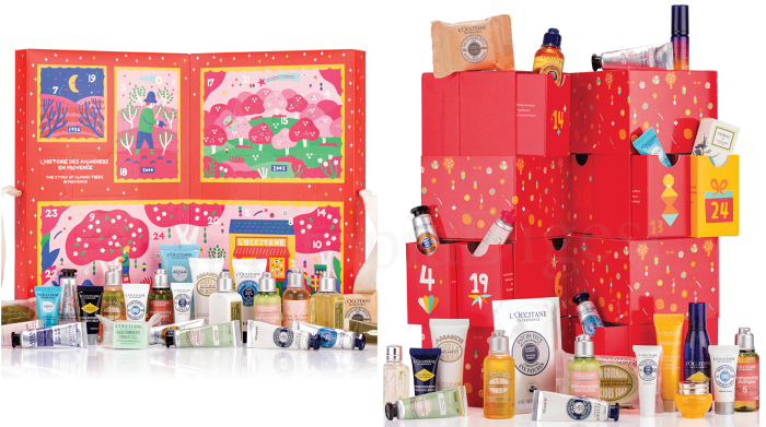 L'Occitane Advent Calendar 2019 spoilers and contents