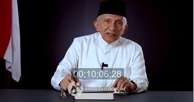 Amien Rais Sebut Jokowi Berubah: Sekarang Tampak Galau dan Tak Yakin Diri