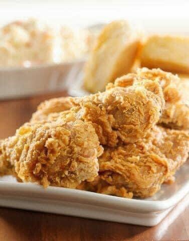 الدجاج المقلى المُقرمش