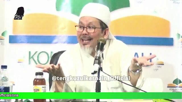 Sindir Dinasti Politik, Ustadz Tengku: Tim Sorak Apa Tidak Melek Ya?