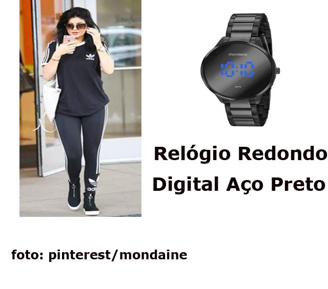 Relógio de pulso é aquele presente para completar o seu look e dar um toque de estilo!