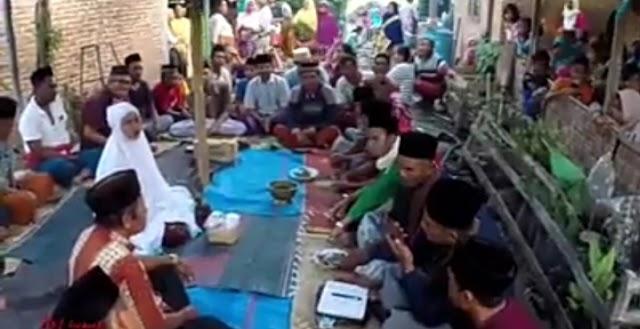 Pernikahan Online di Lombok Viral di Media Sosial
