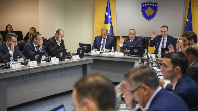 Kosovo Government meeting  source: oculus news
