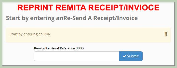 How to Reprint Remita Receipt After Payment - The Quickest Way St - payment receipt