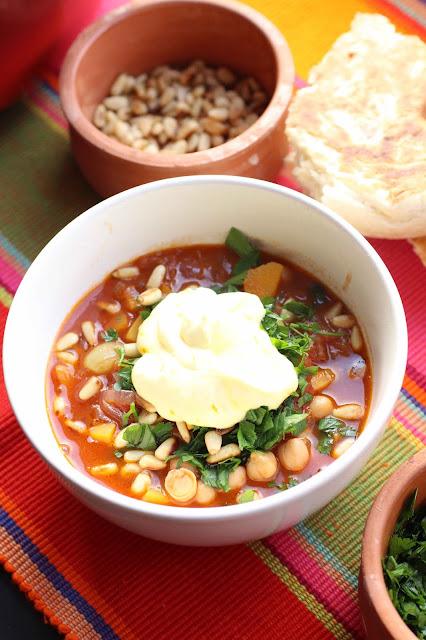 recette soupe aux citrons confits