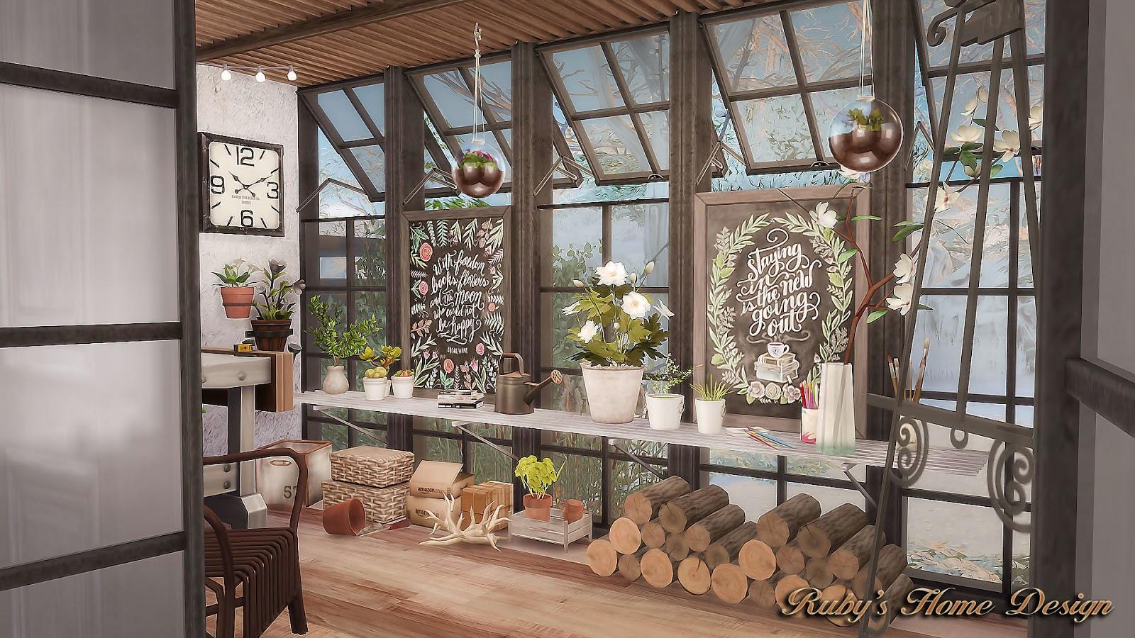 Sims  Industrial Kitchen Set