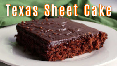 thumbnail of Texas sheet cake video