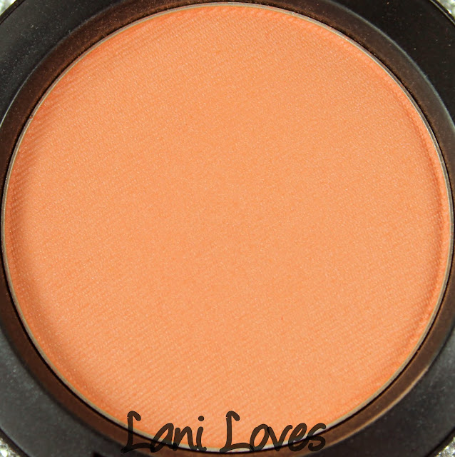 MAC Modern Mandarin Blush Swatches & Review