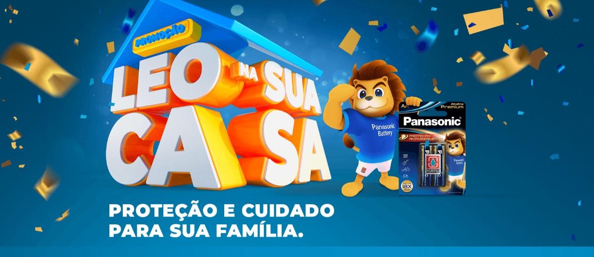 Promoção LEO na Sua Casa Panasonic Pilhas
