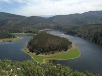 Meandro Melero, marcha al Meandro Melero, pista forestal, Cáceres, Salamanca, Río Alagón, Mirador de la Antigua