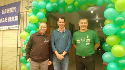 Prefeito Ezigomar Pessoa participa da abertura da campanha Setembro Verde na Apae de Miracatu