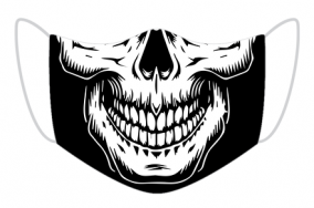 Maseczka czaszka