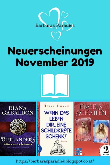 Neuerscheinungen im November 2019 #1