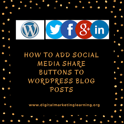 How to Add Social Share Buttons for WordPress Posts