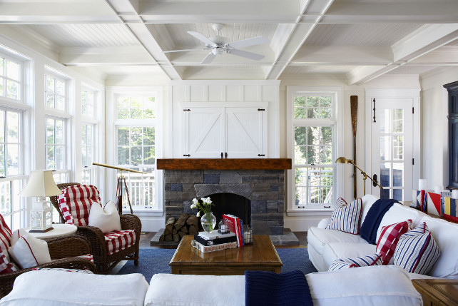 Nautical theme design nautical handcrafted decor blog - Nautical theme living room ...