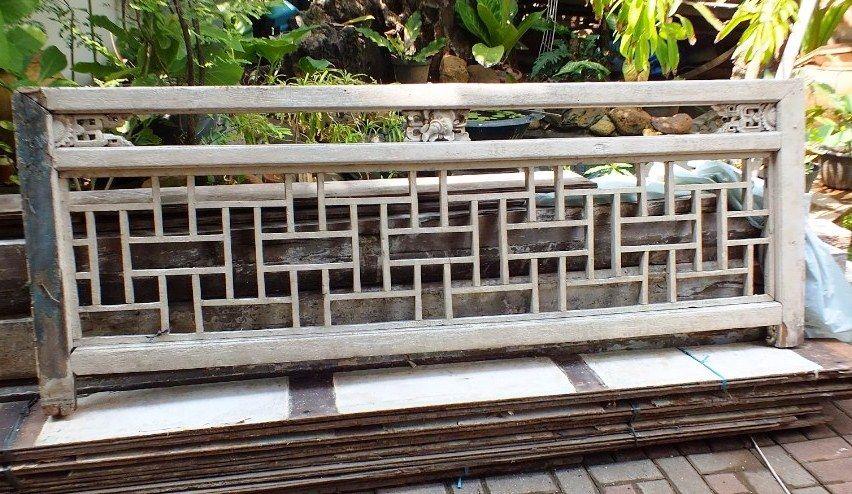 Model Pagar Kayu Jati Minimalis Sederhana
