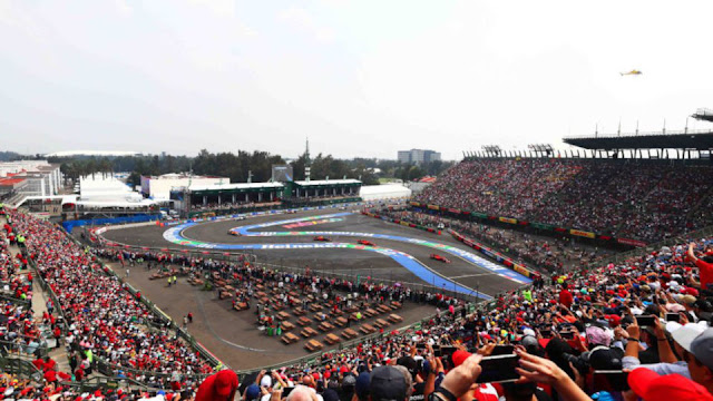 Formula 1 Gran Premio De México 2019.10.27, Autódromo Hermanos Rodríguez