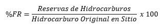 Ecuación de %FR