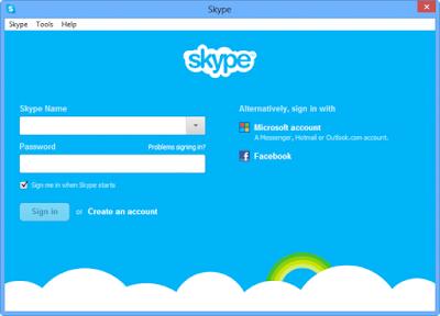 skype of pc windows
